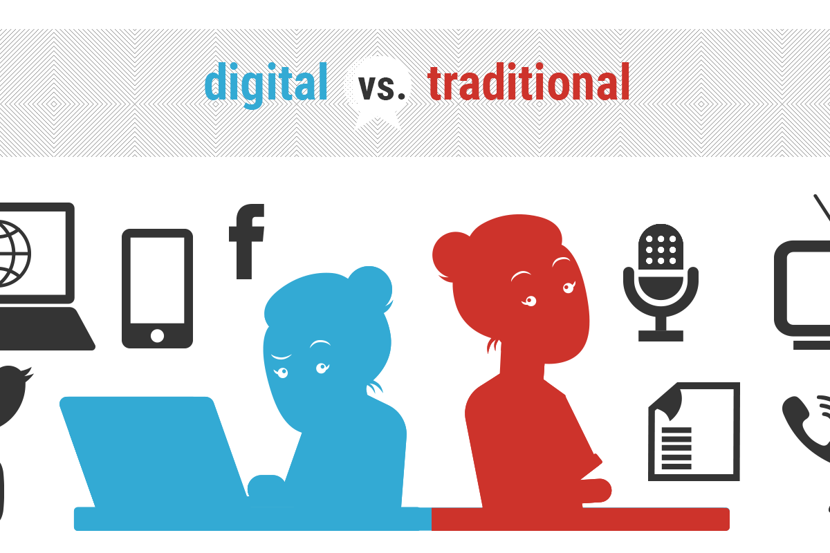 Is Digital or Traditional Marketing Better for Your Business?